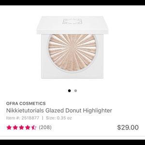 Ofra glazed donut highlighter
